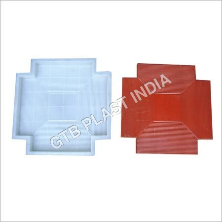 Kona Cut Chequered Tiles Moulds