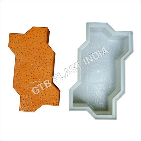 Zig Zag Pavers Mould