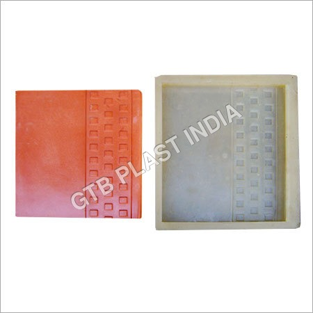 Step Chequered Tiles Moulds
