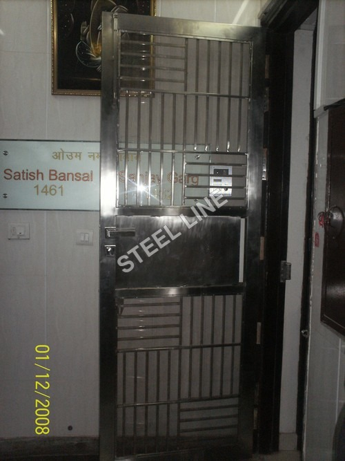SS Designers Single Door Gate