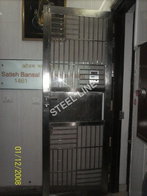 SS Designers Single Door Gate