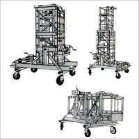 Tiltable Aluminum Tower Ladders