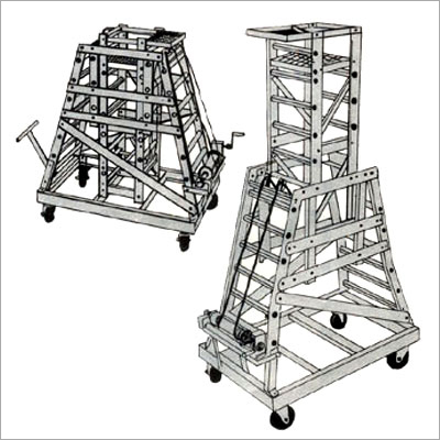 Folding Extension Ladders