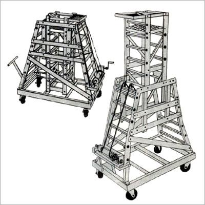 Aluminium Industrial Ladder