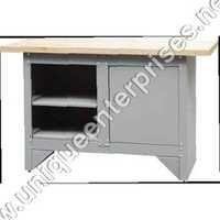 STORAGE CABINET WITH WORKBENCH