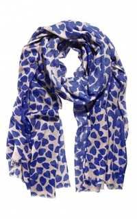 BLUE HEART SCARVES
