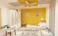 Kids Room Wall Painting Design
