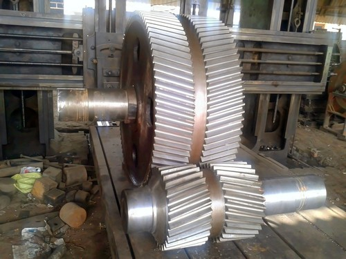 Double Helical Gear Set