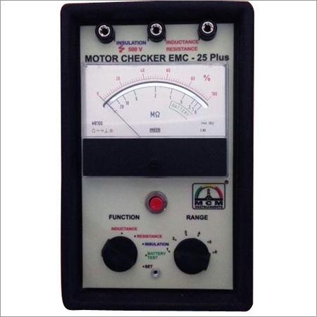 Electric Motor Checker EMC-25Plus