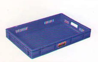 Side Jaali Plastic Crate