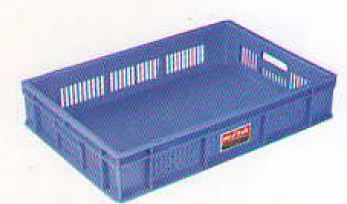 Handled Plastic Crate