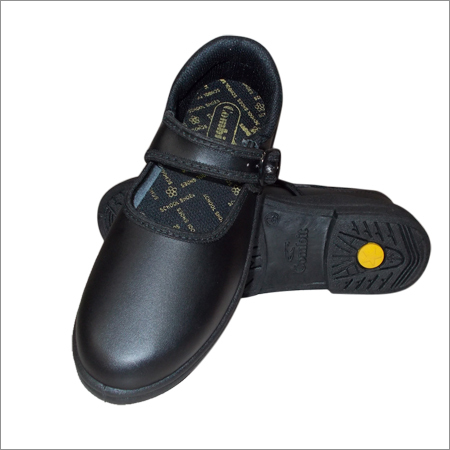 Girls Black School Uniform Shoes