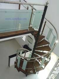 Handrail With Stainless