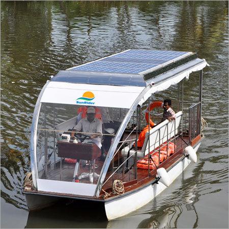 Solar Powered Passenger Boats