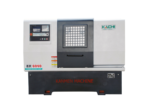 Double Head CNC Lathe Machine