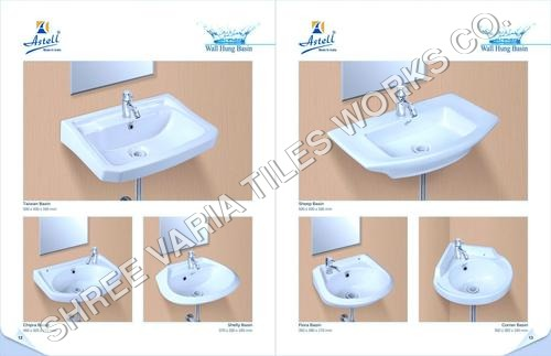 Wall Mounted Wash Basins