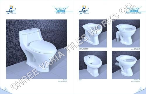Water Closet With Cistern
