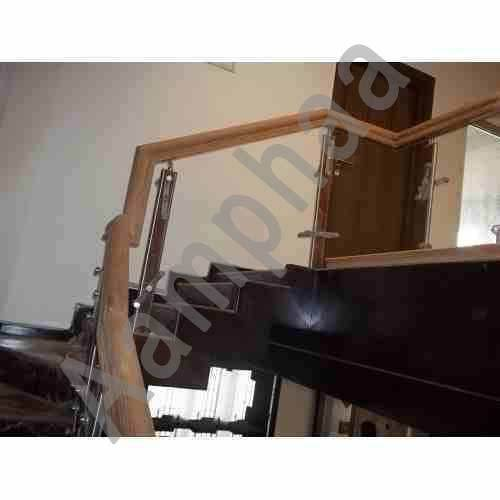 Wooden Handrail Designs Residence