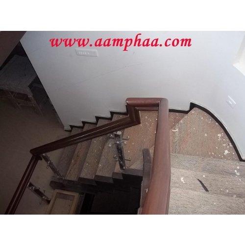 Wooden Polish Handrail