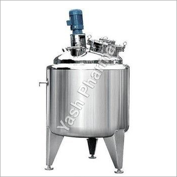 Jacketed Tanks For Ointment Machinery