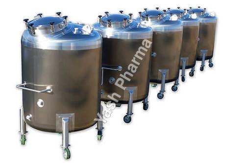 Industrial Pharmaceutical Tanks