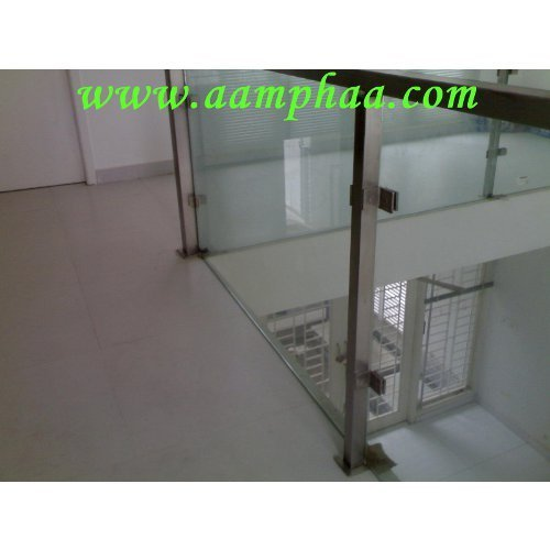 Inner Balcony Handrail With Glass