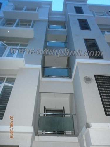 Balcony With Glass Railing Design Ideas