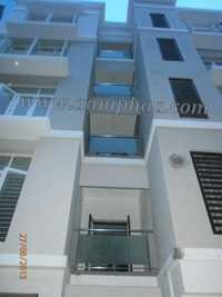 Balcony With Glass Railing Design Ideas