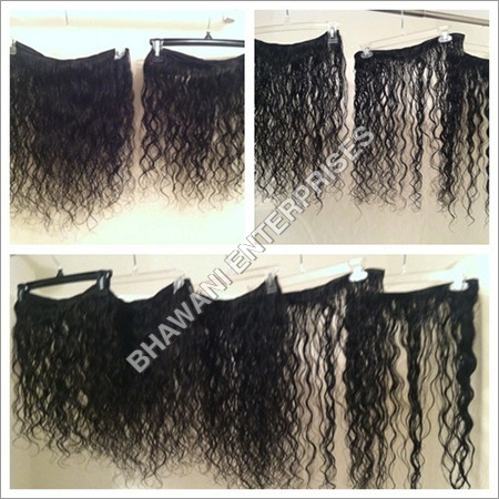 Curly Wet Hair