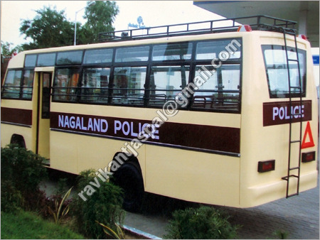 Police Bus Body Building