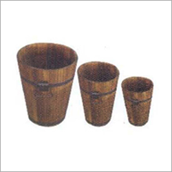 Barrels Wooden Vases