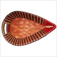 Wrought Iron-Cane Baskets