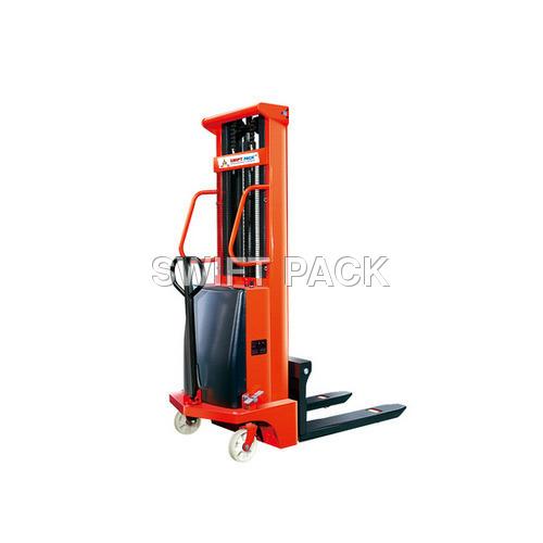 Optimum Load Bearing Capacity Semi Electric Stacker