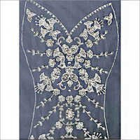 Hand Embroidered Wedding Gown Panel