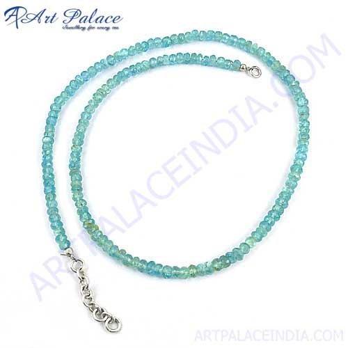 Semi Precious Genuine Beautiful Antique Style Beads Necklace, Beads Jewelry