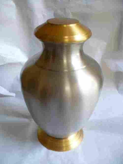 Brass stylish urn