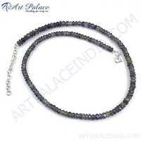 Fantastic Latest Iolite Beads Necklace Jewelry, Beaded Jewelry