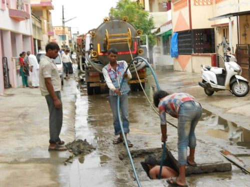 Drainage Chamber Cleaning Services