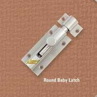 Brass Round 9MM Baby Latch