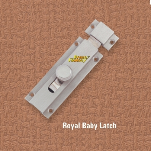 Brass Round Baby Latch