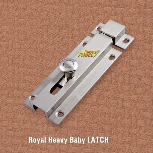 Brass Royal Baby Latch