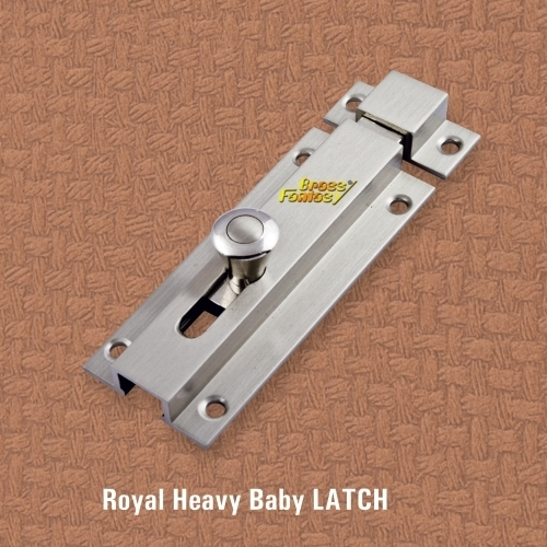 Brass Royal Baby Latch