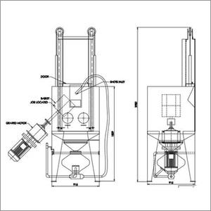 Hand Cabinet Blasting Machine
