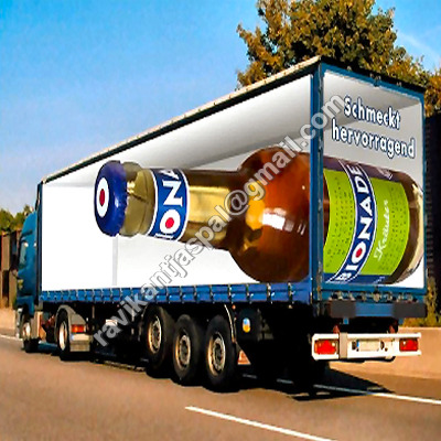 Advertising Vehicle Containers