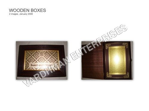 WOODEN BOX FOR MARRIAGE