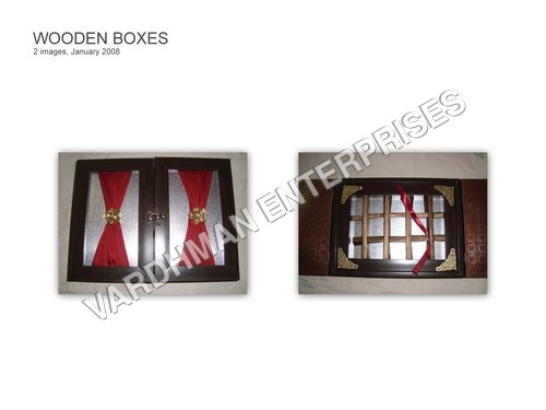 DOUBLE DOOR WOODEN BOX
