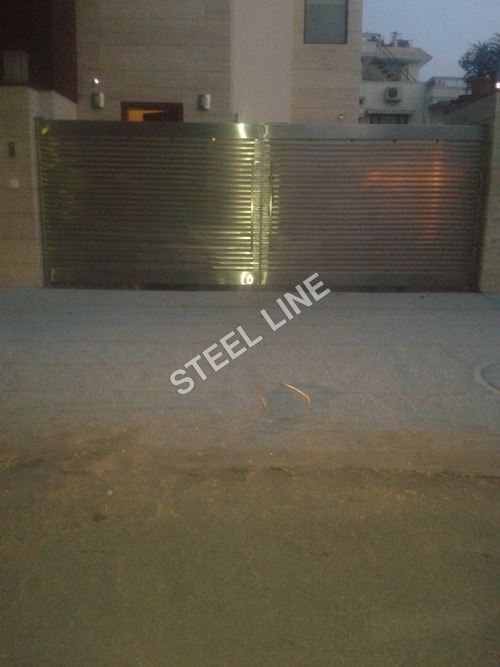 Designer Stainless Steel Gate