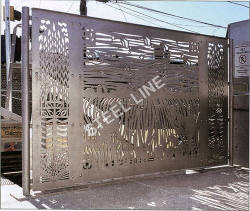 Latest Designer SS Gate