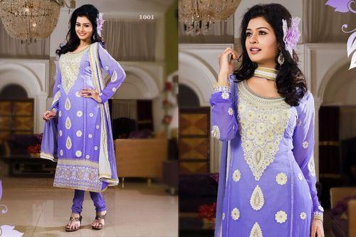 Designer Embroidery Worked Salwar Kameez