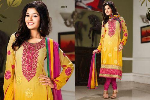 Trendy Embroidery Worked Salwar Kameez